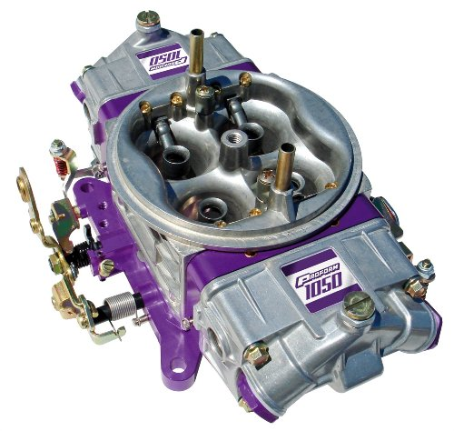 Proform 67199 Race Series 650 CFM Polished Aluminum Dual Inlet 4-Barrel Square Bore Mechanical Secondary Carburetor