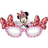 "6 masques en carton ""Minnie Mouse"""