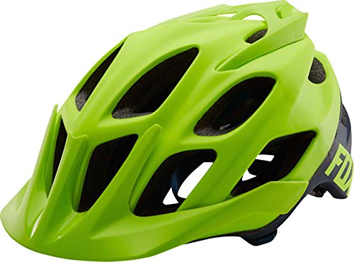 Fox Racing Flux Helmet Flo Yellow, L/XL