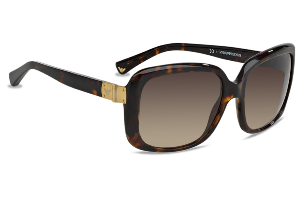 Emporio Armani EA 4008 Women's Sunglasses Dark Havana 56