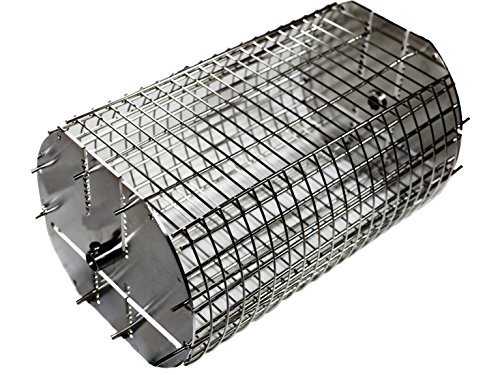 OneGrill Performer Series Kamado Grill Fit Rotisserie Spit Rod Basket (Fits 5/16