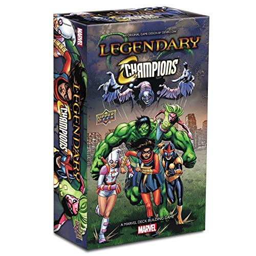 Legendary: A Marvel Deck Building Game: Legendary Champions Expansion from Upper Deck