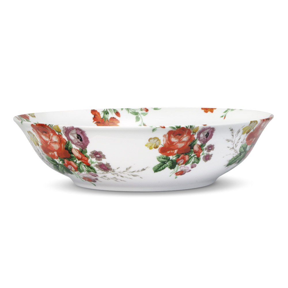 Katie Alice Scarlet Posey Vegetable Bowl, 1-Quart Lifetime Brands Inc.