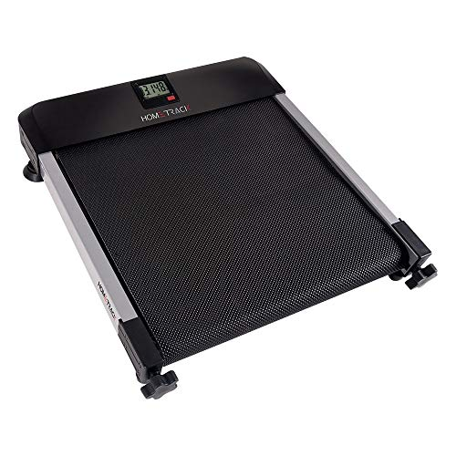 HomeTrack Walkingpad Mini Treadmill – Sitting Treadmill - Under Desk Treadmill