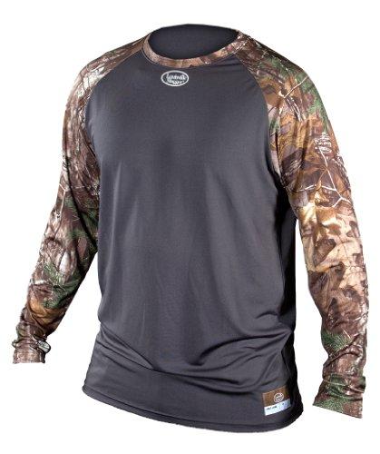 Louisville Slugger Adult Slugger Compression Raglan long Sleeve Shirt