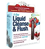 Applied Nutrition 5-Day Liquid Cleanse & Flush, Fast-Acting Mixed Berry Total Body Cleanse