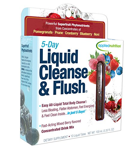 Applied Nutrition 5-Day Liquid Cleanse & Flush, Fast-Acting