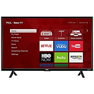 TCL 32S301 32-inch 720p 60Hz Roku Smart LED TV (Certified Refurbished)