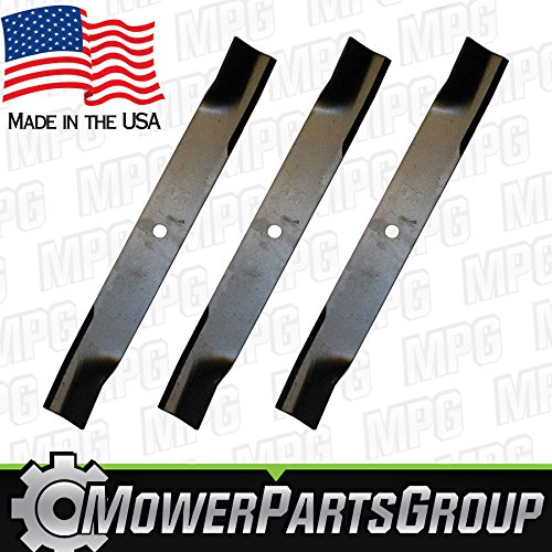 "(3) Hi Lift Blades Fits Hustler 60"" Raptor SD Replaces 793794 794685 -  MowerPartsGroup"