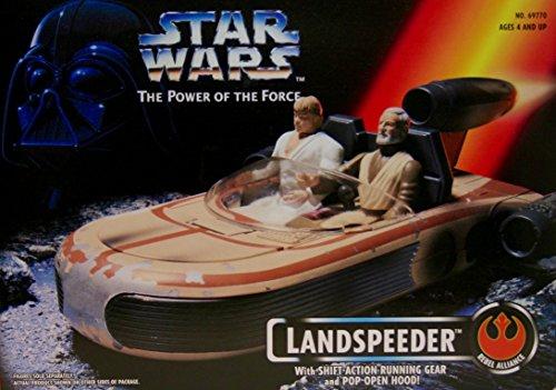 Star Wars Power of the Force Landspeeder Vehicle