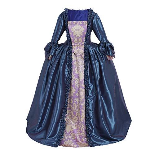 (CosplayDiy Women's Venice Carnival Colonial Georgian 18th Century Marie Antoinette Cosplay Gown Dress XS)