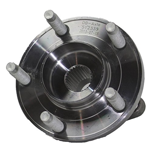 (Detroit Axle - AWD REAR Wheel Bearing & Hub Assembly Driver or Passenger Side fits AWD Only - 2007-2010 Ford Edge AWD - [2007-2010 Lincoln MKX AWD])