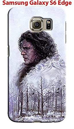 separation shoes 499c3 3d046 Amazon.com: Game of Thrones for Samsung Galaxy S6 Edge Hard Case ...