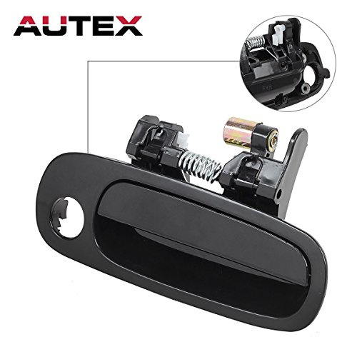 Outside Outer Exterior Door Handle Front Right Passenger Side for 1998 1999 2000 2001 2002 Toyota (1999 Toyota Tercel Door)