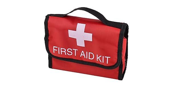 Amazon.com: eDealMax Bolsa de almacenamiento Tela Oxford Inicio acampar al aire Libre del rectángulo de primeros auxilios de emergencia Rescate Seguridad de ...