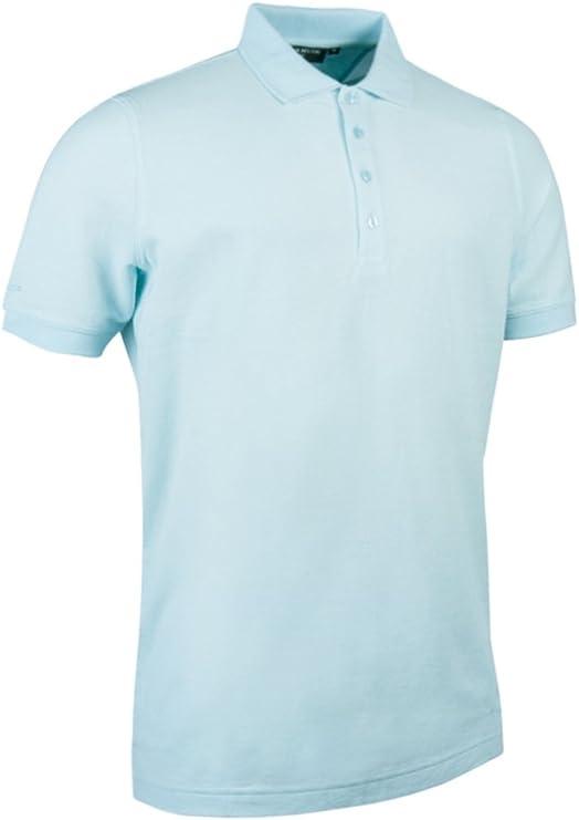 Glenmuir Mens Piqué polo shirt (FSH211), M, Duck Egg: Amazon.es ...