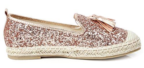 On Oro Shoes Espadrillas Donna Loafer AgeeMi Tonda Punta Slip Donna Mocassini Scarpe PHUwaax