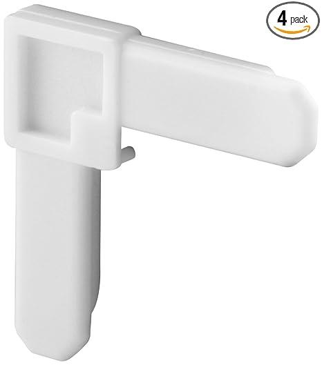"Prime-Line Pl 14336 White Plastic 1//4/"" X 5//8/"", Mobile Home Screen Frame Corner"