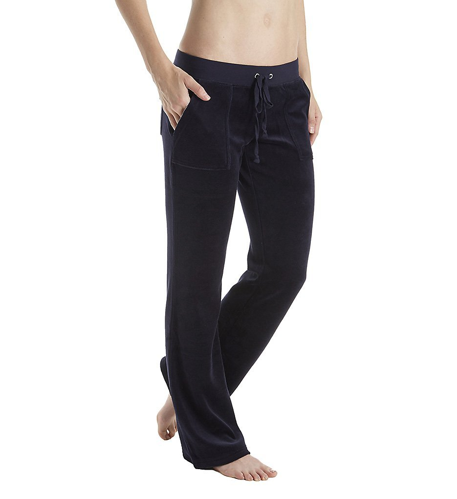 Juicy Couture Black Label Del Rey Velour Bootcut Pant With Pockets Wtkb72771 Buy Online In Cayman Islands Missing Category Value Products In Cayman Islands See Prices Reviews And Free