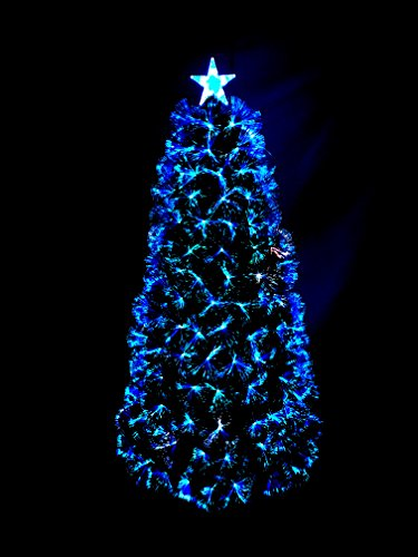 Ziburry Fiber Optic Christmas Tree (4ft, Synchronous Fiber)