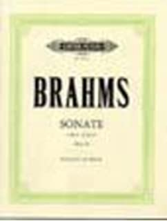 Brahms Sonata In E Minor Op38 Cello Piano