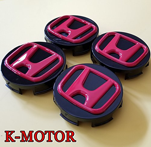 K-MOTOR 58MM CENTER CAPS HUB CRV CIVIC,ACCORD, ODYSSEY PILOT FOR HONDA WHEELS (58mm Pilots)