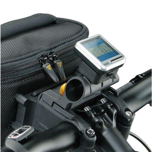 Topeak TourGuide HB Bag Fahrrad Lenker Tasche QuickClick 5L Kartenfach Regenhülle Schultergurt, 15002007
