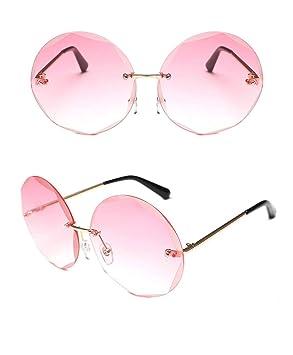 FKSW Gafas De Sol Gafas De Sol Sin Montura Mujeres Gafas De ...