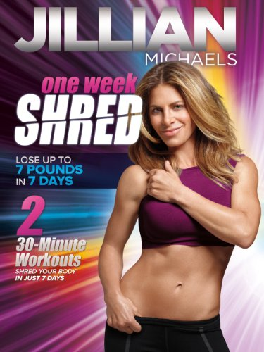 Exercise Products : Jillian Michaels: One Week Shred