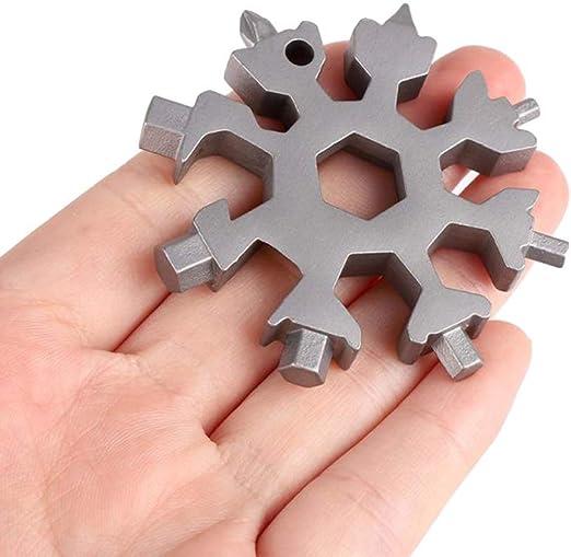 18 In 1 Snowflake Multi-Tool, Screwdriver, Christmas Gift - - Amazon.com