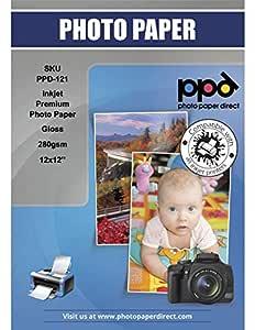 PPD - Papel fotográfico brillante para inyección de tinta ...