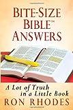 Bite-Size Bible Answers, Ron Rhodes, 0736937307