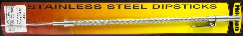 Milodon 22070 Center Sump Stainless Steel Dipstick for Big Block Mopar 383//440