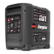 Energizer eZV2800, 2600 Running Watts 2800 Peak Watts, Quiet Portable Gas Powered Inverter Generator with Electric...