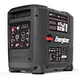 Energizer eZV2800, 2600 Running Watts 2800 Peak Watts, Quiet Portable Gas Powered Inverter Generator with Electric Start, CARB Approved