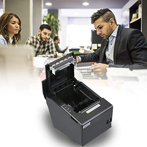 80mm Thermal Receipt POS Printer Windows Driver Auto Cutter with USB Serial Ethernet ESC/POS RJ11 RJ12 by Oshide (Image #6)