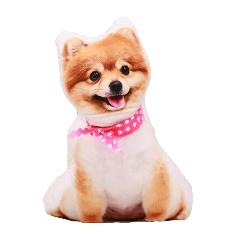 East Majik Simulation Dog Shape Pillow 3D Plush Toy Animal Pillow #1