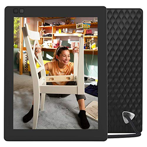 Nixplay Seed Ultra 10 Inch 2K WiFi Digital Photo Frame - Share Moments Instantly via App or E-Mail