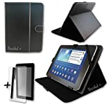 Black PU Leather Case & Stanid for Kocaso MIDPAD M9000 / M9300 9