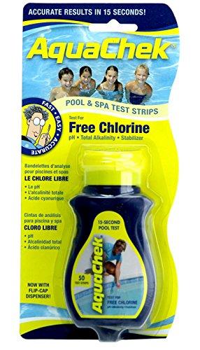Aquacheck 511244A Chlorine Test Strip 511244A - Pa