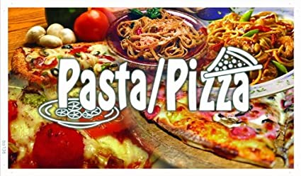 Amazoncom Adv Pro Ba136 Pasta Pizza Shop Cafe Banner Shop Sign