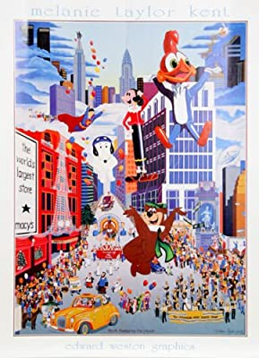 Art melanie taylor kent print Macy's Thanksgiving Day Parade 1983 Lithograph