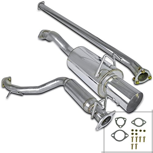 Spec-D Tuning MFCAT2-CV064 Honda Civic 4dr Sedan N1 Catback Exhaust System ()
