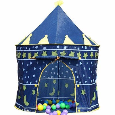 zhudj Tente Outdoor, Prince, Château Princesse, tente pour enfant,  intérieur Maison, Rides Baby krabbeln de Maison de jeu, tente 76c8cbb87e7a