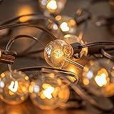 MYHH-LITES 20ft G40 Globe Patio String lights