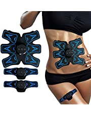 EMS Stimulating Muscle Trainer,Abdominal Muscle Toner Stimulating Fitness Device & Weight Muscle Training for Men &Women