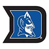 Fanmats NCAA Duke University Blue Devils Nylon Face Mascot Rug