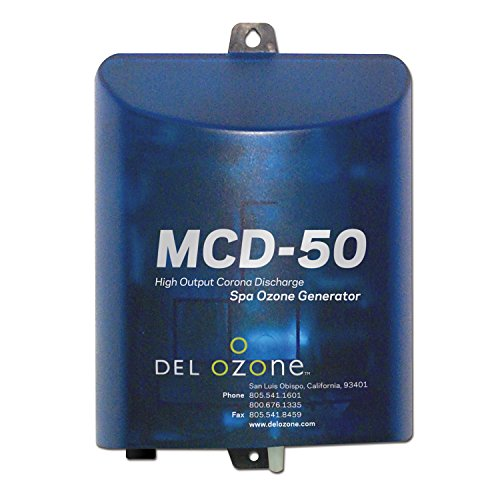 DEL Ozone MCD-50U-12 Hot Tub and Spa Ozonator for Water Sanitation