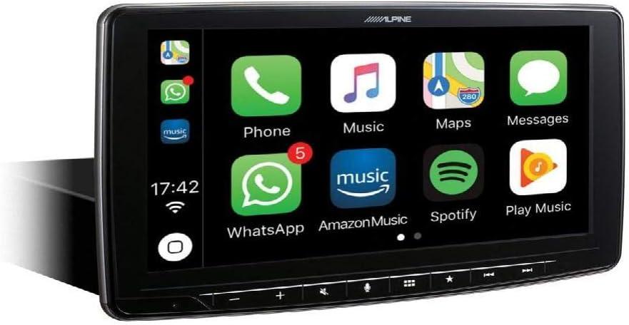 Alpine iLX-F903D - Receptor Multimedia con Pantalla capacitiva de 9 Pulgadas, Color Negro