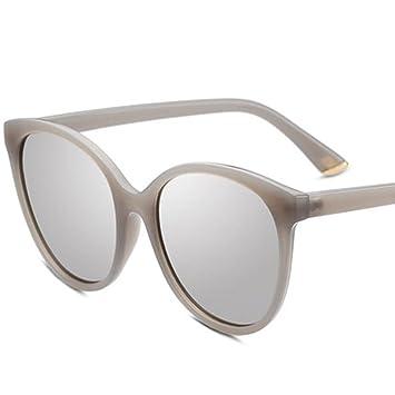 HAOCP Großer Rahmen/Sonnenbrille/Persönlichkeit/Sonnenbrille/rundes Gesicht/Dekoration/Sonnenbrille, 3